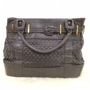 Urban Outfitters Handbags - ❗️SALE❗️Dark Grey Weaved Bag