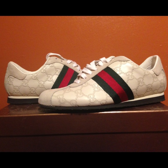 Never Worn Real Gucci Classic Sneakers