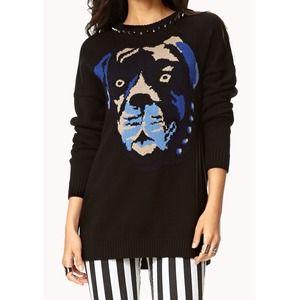 Sweaters - Studded Dog Sweater