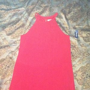 New Crimson Red Shift Dress