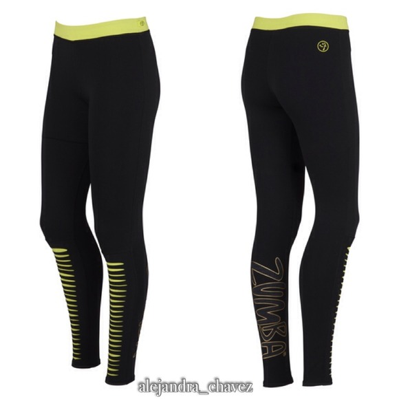 Zumba Fitness Leggings: Zumba Slash O Rama Long Leggings