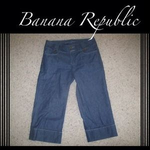 Banana Republic Denim Capris