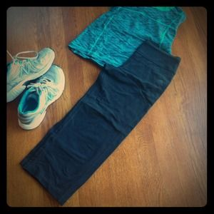 Adidas Black Workout Capris