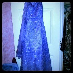 Dresses & Skirts - Purple corset prom dress