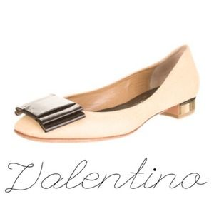 Authentic Valentino Bow Flats!