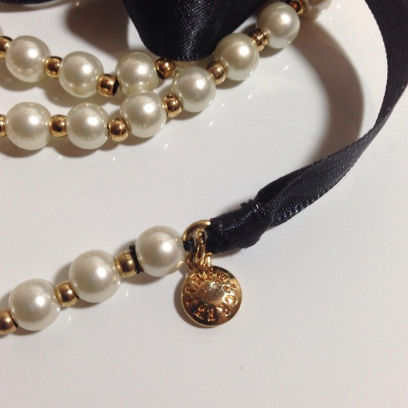 J crew sold j crew ribbon tie pearl necklace from l 39 s for Ribbon tie necklace jewelry
