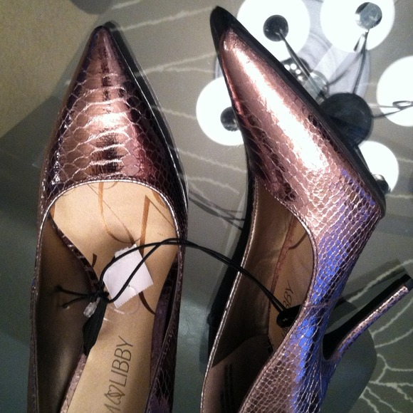 Sam &amp Libby - Brand new rose gold colored heels by Sam &amp Libby