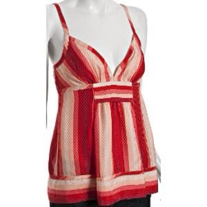Marc by Mark Jacobs gradient stripe silk tank.