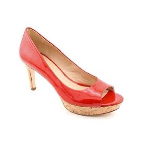 dcccf217452cef VIA SPIGA  ALEXIS  Women s Shoes Red Pumps Sz 6.5M