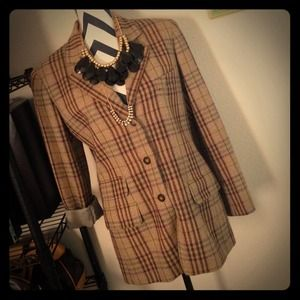 Burberry Jackets & Blazers - Sold on eBay / Auth Burberry VTG blazer