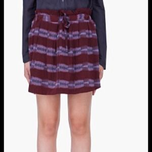 See by Chloe Burgundy Skirt