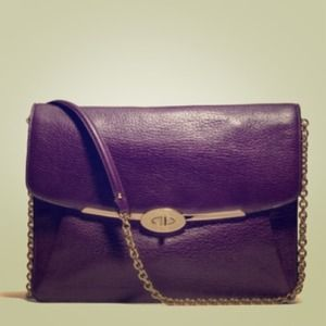 % Authen coach Madison leather crossbody/clutch