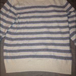 Oversized Striped Sweater!
