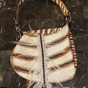 FENDI Handbags - 🎀 Amazing FENDI Tribal Fur Oyster Hobo Bag 🎀