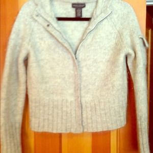 Cozy banana republic zip sweater