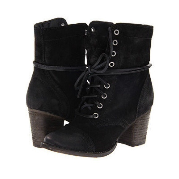 d2eb7a2a3fa Steve Madden Gretell Lace Up Booties