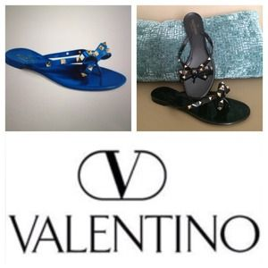 Valentino Shoes - BLACK VALENTINO SANDAL