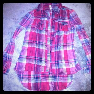 sALE Long sleeve plaid top! Nwot