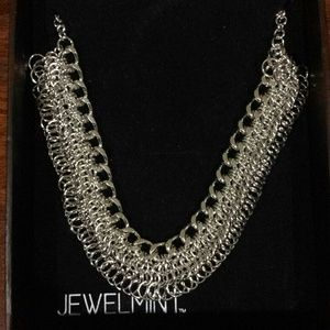 REDUCED Silver tone necklace
