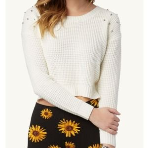 Sweaters - Studded sweater NWT