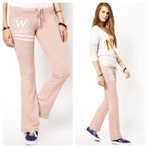 WILDFOX GREY Signature Sweat Pants S