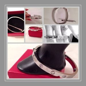 SILVER Love Bracelet new!