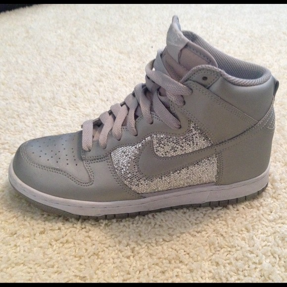 High Top Nike Sparkle Shoes