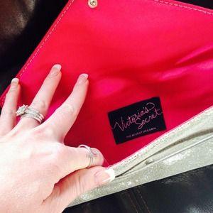 Victoria's Secret Bags - Victoria's Secret Silver Clutch 3
