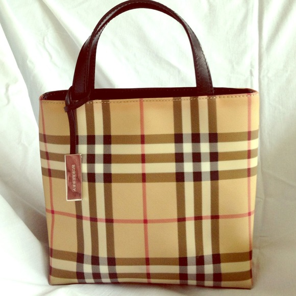 3a60920f64a Burberry Handbags - Classic Burberry Mini-Tote bag circa 2003