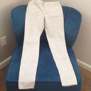 J Brand skinny animal print jeans