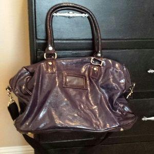 Handbags - Purple Overnight Bag