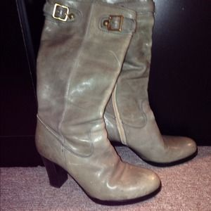 Used boots, authentic. Coach