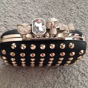 Gorgeous studded clutch/purse