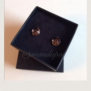 J.crew Crystal Point Stud Earrings