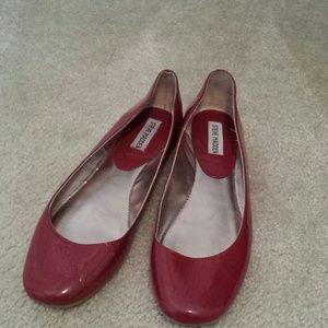 Steve Madden Shoes - SOLD!!! Steve Madden Red Flats