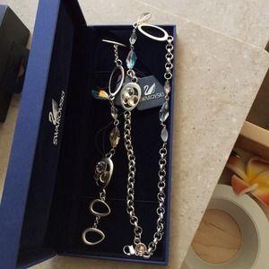 Jewelry - Swarovski necklace & bracelet set