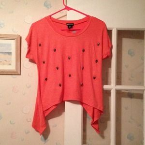 Tops - Nwt studded skull top