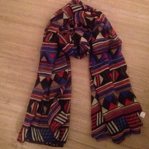 Marley Lilly  Accessories - Tribal scarf MARK DOWN from 25 to 20 5/23