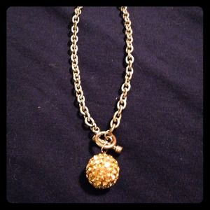 Chain and ball necklace