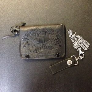 SpitFire Accessories - SpitFire Leather Chain Wallet. Used.