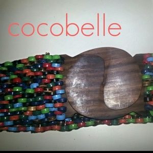 NWT. Colorful Cocobelle Belt
