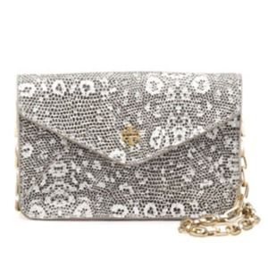 Not avail*NWT Tory Burch Lizard-Embossed Crossbody