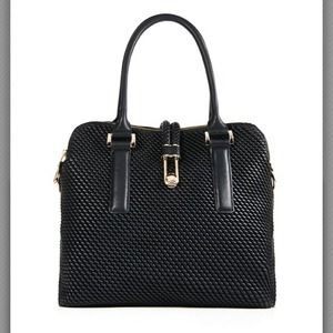 Just Fab Handbags - Just Fab Globetrotter Bag w/Garment Bag