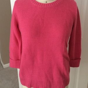 Pink GAP knit sweater size small