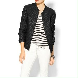 Sabine Jackets & Blazers - ⚡️⚡️[SALE]⚡️⚡️ Quilted Vegan Leather Bomber