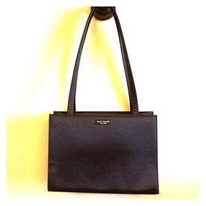 Classic Kate Spade Nylon Shoulder Bag