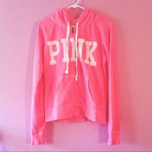 HOT PINK VICTORIA SECRET JACKET