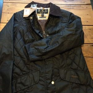 NWT Barbour Sapey Waxed Jacket