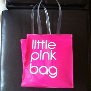 Bloomingdales Little Pink Bag small shopping tote