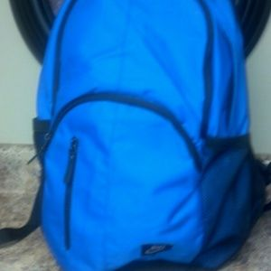 Nike blue bookbag